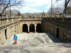 Central Park. NYC. Bethesda Terrace. April 2015.