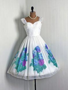 Vintage Garden party dress