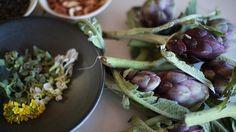 Crisp artichoke salad | Vegetarian recipes | SBS Food