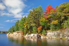 """""""Autumn, Killarney Provincial Park, Ontario, Canada"""" Nature, Landmarks and the Environment, by Stephen Thompson, Canada"""