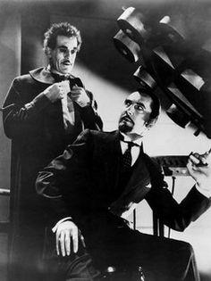 Bela Lugosi & Boris Karloff The Invisible Ray by Treasures From Paul's Basement, via Flickr