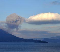 Clouds in Kagoshima, Japan