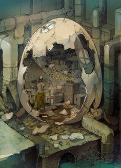 The Art Of Animation, Demizu Posuka