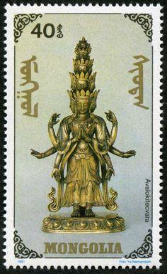 Mongolia Guanyin 1991