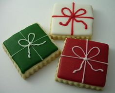Christmas Gift Cookie-Simple but Really Cute!