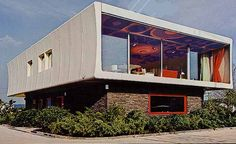 WOLFGANG FEIERBACH  SYSTEM FG2000, 1968PLASTIC HOUSE
