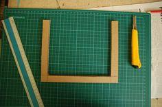 Cornice fai da te con il cartone riciclato, il tutorial   Tutorial 3   FOTO Quilling, Tutorial, Frame, Crafts, Hobby, Amelie, 3, Carton Box, Moldings