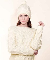 Sweater And Hat in Rico Essentials Merino DK - 182