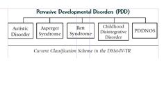 An exhibit showing the five disorders on the autism spectrum, as currently classified in the DSM-IV-TR. Asd Spectrum, Autism Spectrum Disorder, Dsm Iv, Social Environment, Sensory Integration, Developmental Disabilities, Human Behavior, Aspergers