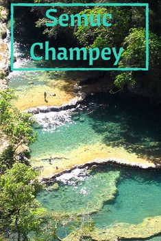 The journey to Semuc Champey deep in the jungles of Guatemala isn't a super easy one but it is so worth it!