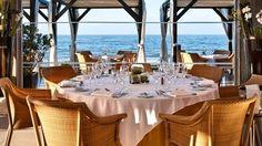 Restaurant La Cabane at Marbella ! Fresco, Table Settings, Menu, Table Decorations, Furniture, Home Decor, Restaurants, Cabin, Menu Board Design
