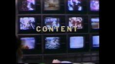 Video is television?, 1989. Muntadas, Antonio