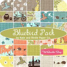 Bluebird Park by Kate and Birdie Paper Co., FatQuarterShop.com
