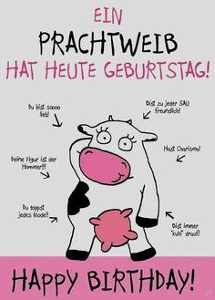 Geburtstagskarte Mit Glucksschweinchen Und Einem Lieben Spruch