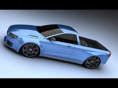 Volvo V70 Pickup concept. Yes please!