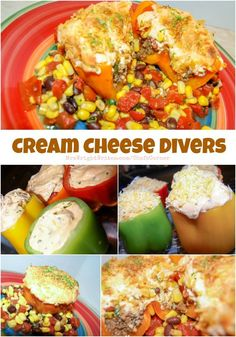 Cream Cheese Divers with Southwestern corn salad are a fun way to use leftover taco meat! They're quick and easy, and will leave your guest pleased!