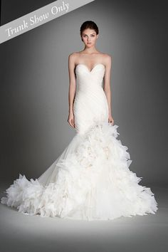 KleinfeldBridal.com: Lazaro: Bridal Gown: 029-3559: Fit and Flare: No Waist/Princess Seams