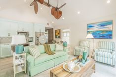 Sea green... home in Key West, FL by David L. Smith Interiors