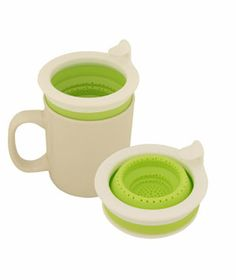 Collabsible Tea Infuser from Flight001, $12