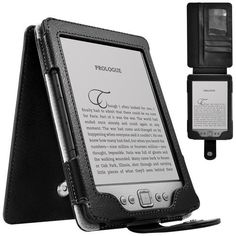 CaseCrown Regal Flip Vertical Case (Black) for Amazon Kindle 4 e-Reader (4th generation) by CaseCrown. $2.00. Protect your Amazon Kindle 4 e-Reader (4th generation) with this CaseCrown Regal Flip Vertical Case at all times! This case sports a simple yet classy design made from synthetic leather, and the interior is lined with a soft material to protect your Kindle from scratches. There is a single magnetic button closure to secure your Kindle in place. It's also great...