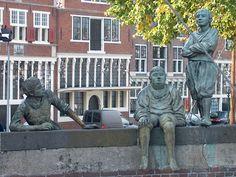 ) in the harbour of Hoorn created in 1967 by sculptor Jan van Drunen Holland, Garden Sculpture, Sculptures, Van, Bronze, Outdoor Decor, Statues, Home Decor, Memories