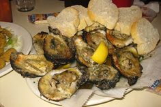 New Orleans - French Quarter: Felix's Restaurant & Oyster Bar: Chargrilled Oysters