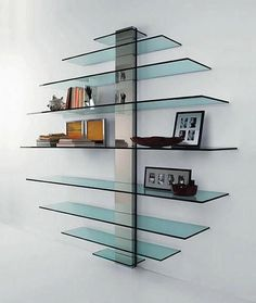 Home decor glass wall art ideas glass wall decor glass wall decor bright and modern shelves plain decoration best floating ideas on decorating styles for Wine Glass Shelf, Glass Shelf Brackets, Glass Shelves In Bathroom, Floating Glass Shelves, Shower Shelves, Display Shelves, Shelving, Display Cabinets, Regal Display