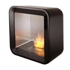EcoSmart Retro Black Fireplace