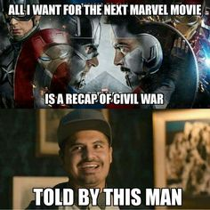 of Marvel Memes, Animation and Images - Civil War Edition Avengers Humor, Marvel Avengers, Funny Marvel Memes, Marvel Jokes, Dc Memes, Marvel Dc Comics, Funny Memes, Hilarious, Funny Superhero Memes