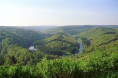 """Ardennes - """"le tombeau du géant""""."""