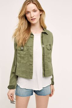 Maxillaria Swing Jacket from Anthropologie