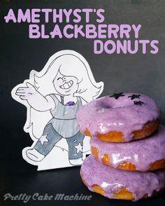 Recipe: (Steven Universe Dessert Series, Pt. 3) Amethyst's Purple Berry Donuts