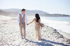 Monterey beach wedding. Photo by @laura_hernandez  - Monterey, CA | SnapKnot