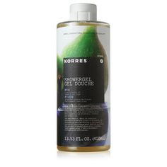 Korres Shower Gel- Fig- NEW! please note- mine is the 8.4 fl oz size (still a big bottle!)