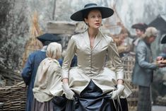 """Claire Fraser (Caitriona Balfe) from the Outlander series on Starz, """"Not In Scotland Anymore"""""""