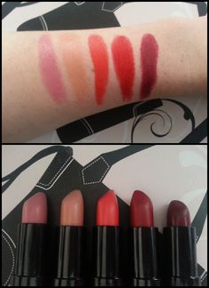 Review: Kate Moss for Rimmel Matte Lipstick Collection with Swatches