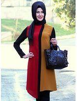 tesettür giyim Batik Fashion, Abaya Fashion, Muslim Fashion, Islamic Clothing, Beautiful Hijab, Mode Hijab, Long Blouse, Hijab Outfit, Muslim Women