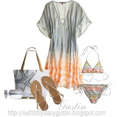 calypso caftan, created by stacy-gustin