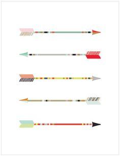 tribal arrows  by Armommy
