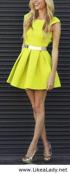 Yellow with metallic