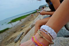 Bracelets<3 I need to get some like that.