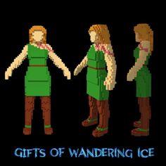 "Voxel version of Rita, a huntress from a scifi comic ""Gifts of wandering ice"". Воксельная версия Риты - охотницы из нф-комикса ""Дары бродячих льдов"". #voxel #magicavoxel #voxels #voxelart #3d #3dart #girl #hunter #huntress #woman #strongwoman #characterdesign #comics #comicbooks #comicbookcharacters #scifi #green #heroine"