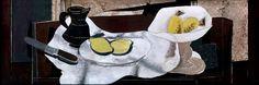 Georges Braque, Cruche, citrons, compotier 1928