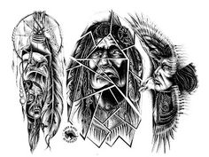 Native American Tattoo Designs And Meanings | Pin Native American Tattoos And Meanings Picture To Pinterest