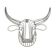 Ben de Lisi Home Designer grey wire bull head- at Debenhams Mobile