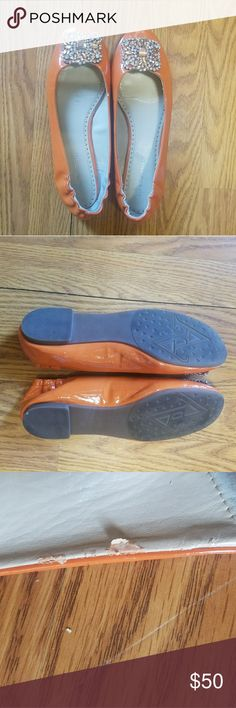 Adrienne Vittadini Flats Orange size 9 Adrienne Vittadini Shoes Flats & Loafers