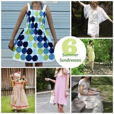 6 Summer Sundress Patterns