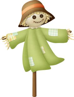 "Photo from album ""Autumn Falling"" on Yandex. Make A Scarecrow, Halloween Clipart, Cricut Explore, Decoration, Views Album, Chibi, Clip Art, Christmas Ornaments, Holiday Decor"
