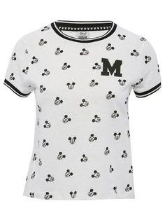 Disney Mickey Mouse crop t-shirt