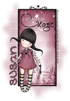 """I believe in magic."" Suzanne Woolcott 
